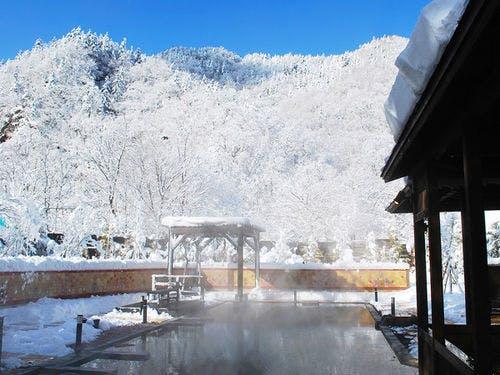 定山渓グランドホテル瑞苑 露天風呂