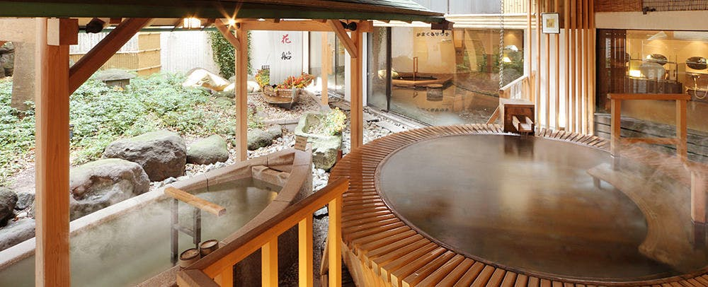 1F 大浴場(紅花風呂)