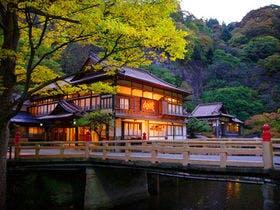 会津東山温泉に家族4人で、
