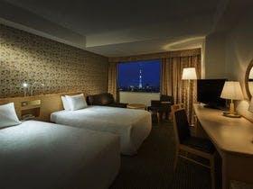絶景!東京スカイツリーの見えるお部屋確約プラン。駐車場無料!~素泊まり~
