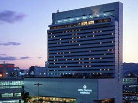 広島へ出張予定。どうせ行くなら、良い所に泊まりたいので、おすすめホテルを教えて下さい。食事は朝ついてるとありがたいです。