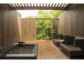 【森林浴のオーベルジュ】温泉露天風呂付き客室 コンフォートツインタイプR