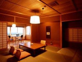 【最上階の展望風呂付き和室】1泊2食付 旬の和食料理プラン