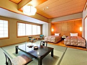 <ユニバーサルデザイン和洋室>ゆったり広々快適に!貸切風呂セット<和洋室プラン>