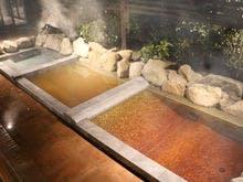 金温泉と3種のお風呂 花菖蒲