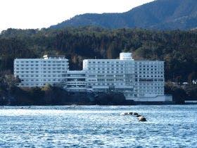 海からの初日の出を拝める宿を探しています。太平洋側、温泉付きの宿で2食付き1万5千円前後の宿を教えてください。