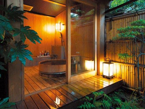 露天風呂付きの客室