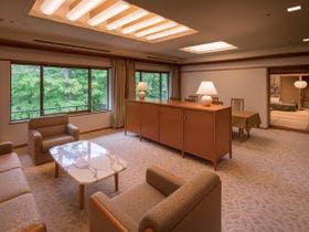 【特別室】1室限定 和室クラウンスイートで過ごす特別なひととき ・・温泉内風呂付客室・・
