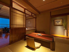 【美肌シルキーバス】露天風呂付客室 Mタイプ