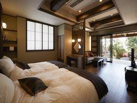 「離れ」神呂木の庄~熊墅・蓬莱~<露天風呂付洋室>スピリチュアルをコンセプトにした神秘的な空間