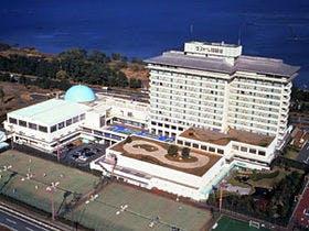 琵琶湖のリゾートホテル