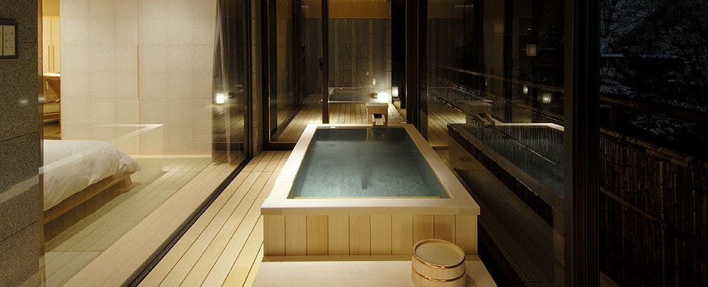 Partial Open-Air Bath, Japanese Suite
