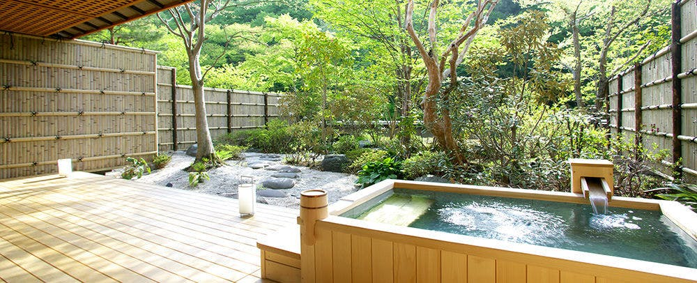 Open-Air Bath, Japanese-Style Room