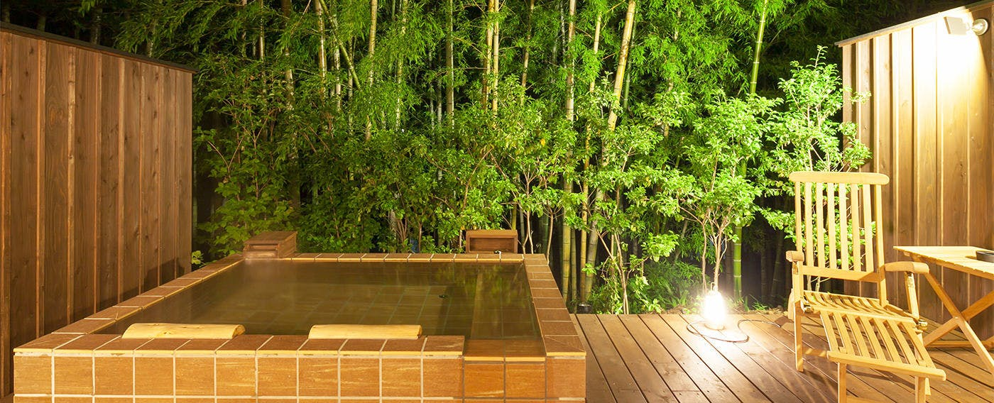 Private Open-Air Bath at Room 'Sasane'