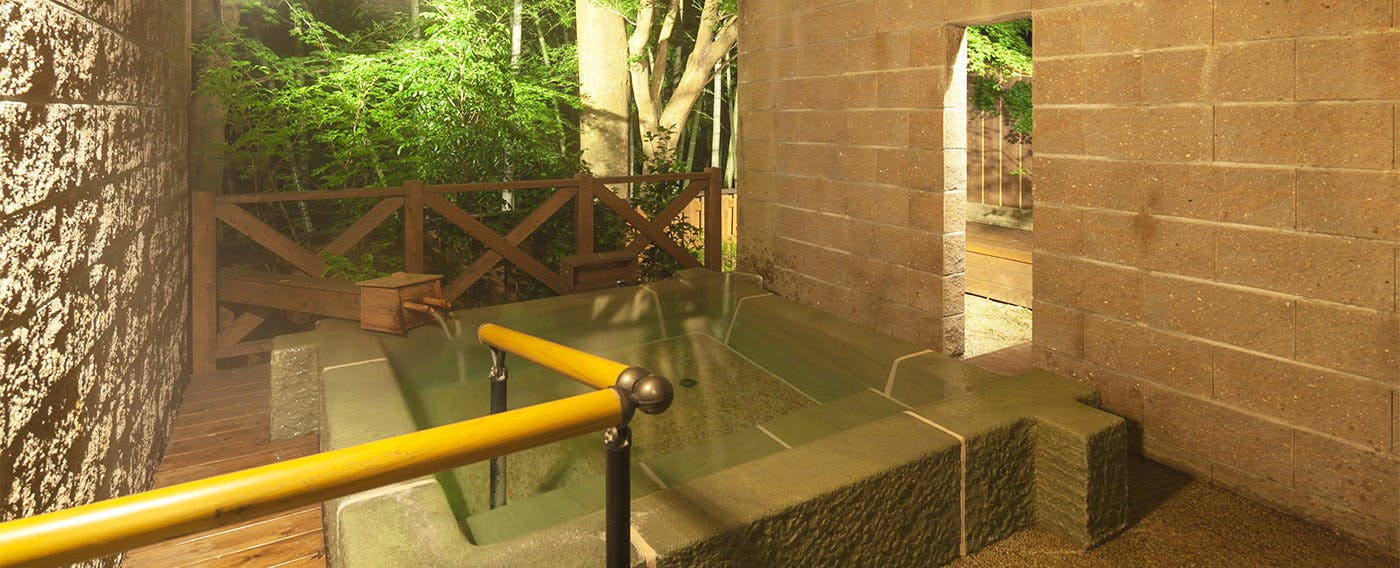 Private Open-Air Bath at Room 'Seifu'