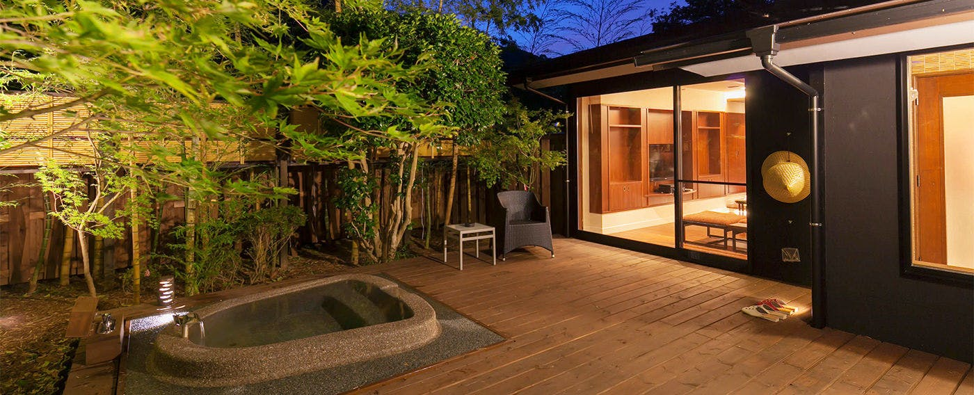 Private Open-Air Bath at Room 'Senka'