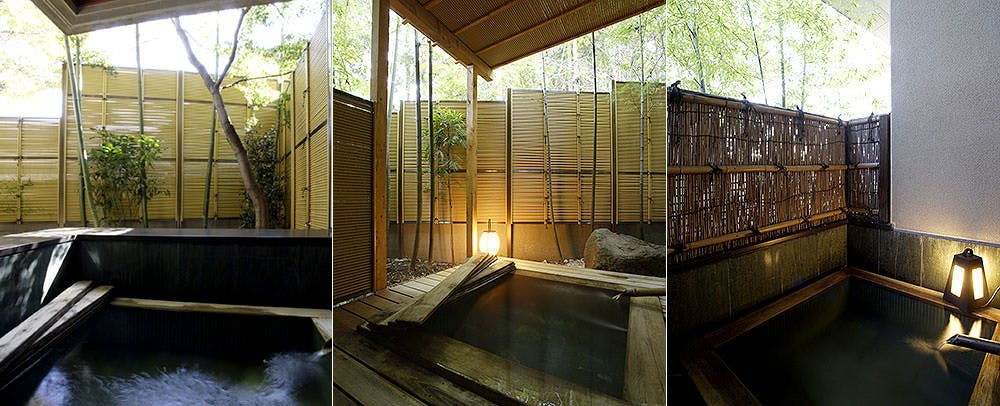 Private Open-Air Bath at Guestrooms