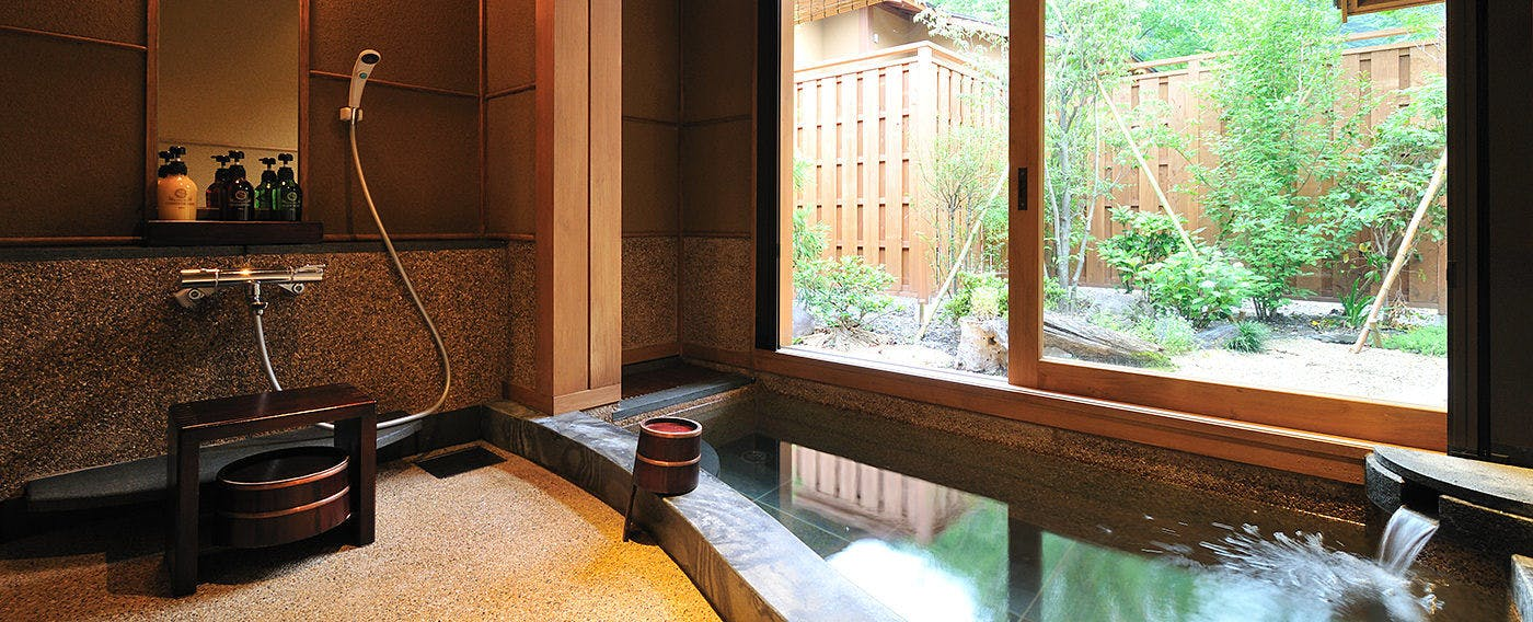 Bath in Room 'Yamaboushi'
