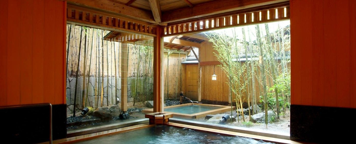 Indoor Bath, Japanese-Style Hot Spring 'Kichino-yu'