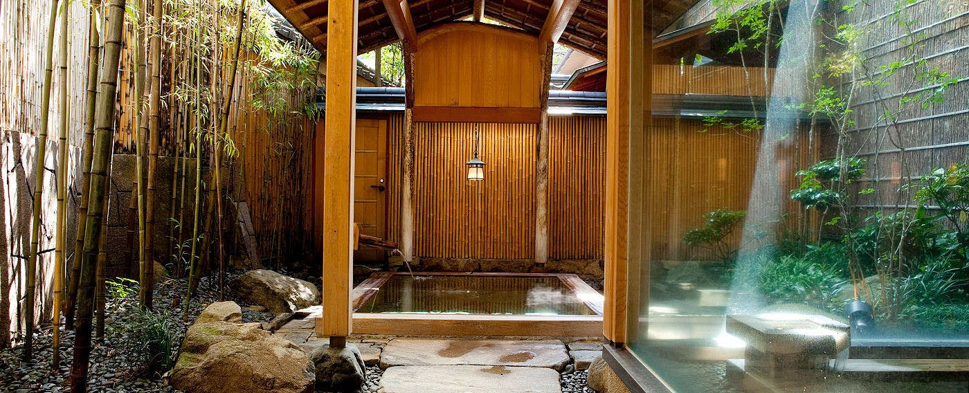 Open-Air Bath, Japanese-Style Hot Spring 'Kichino-yu'