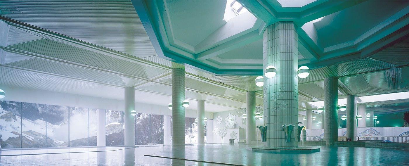 男性大浴場パノラマ