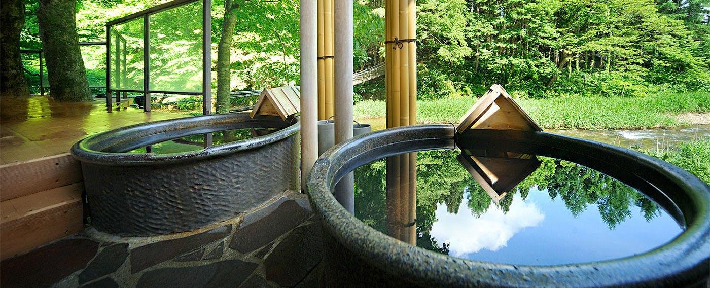 川の湯・陶器風呂