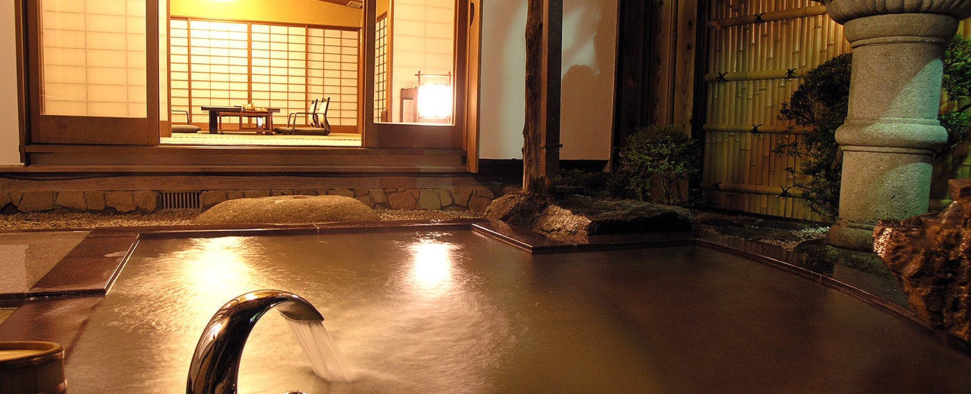 Open-Air Bath at Japanese-Style Villa