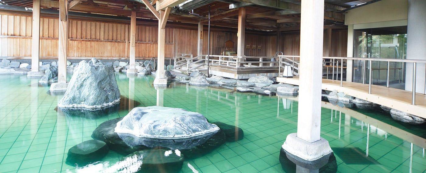 Natural Hot Spring 'Shiratama-no-yu'