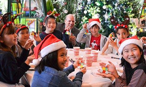 グランド ハイアット 東京 クリスマスチャリティープログラム